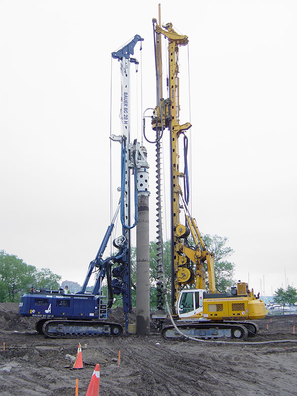 Deep foundation service provider in surat gujarat for Wood piling foundation